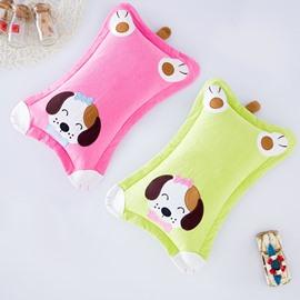 Classic Design Super Cute Puppy Print Newborn Pillow