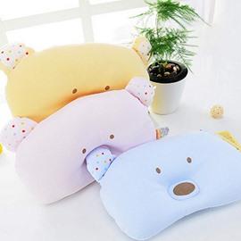 Cute Bear Design Prevent Baby Flat Head Pillow