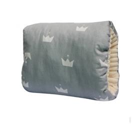 Gray Crown Simple Style Nursing Breastfeeding Pillow