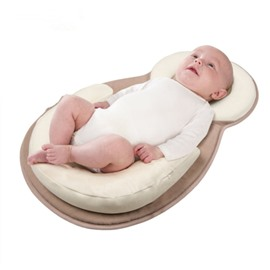 Flat Head Newborn Baby Pillow Super Soft And Breathable Infant Sleeping Pillow