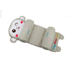 Infant Anti-flat Head Cotton Khaki Monkey Adjustable and Removable Shaping Pillow