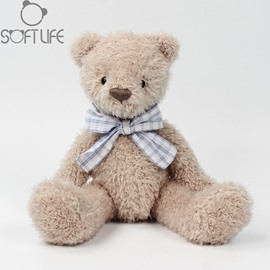 Teddy Bear With Bow Tie Soft Plush Baby Sleep/comforting Pillow Toy