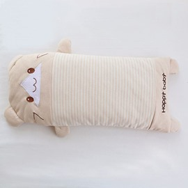 Cartoon Bear Shape Buckwheat Baby Good Sleeping Pillow