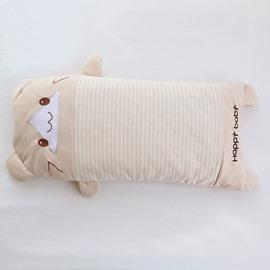 Cartoon Bear Shape Buckwheat Baby Good Sleeping Pillow