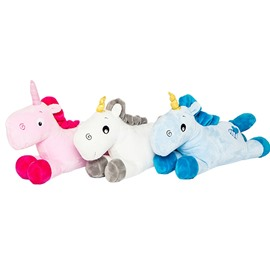 Lovely Unicorn 3 Color For Choice Soft Plush Kids Pillow Toy
