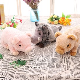 Funny Emulational Pigs Shape Soft and Breathable Plush Baby Toy