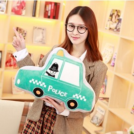 Cute Creative Car Shape Soft and Breathable Plush Baby Toy