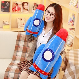 Creative Rocket Shape Soft and Breathable Plush Baby Toy