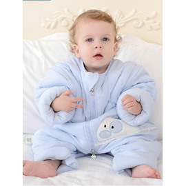 Top Class Cozy Rabbit Blue Baby Sleeping Bag