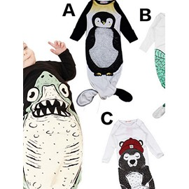 Lovely Four Patterns for Choose Mermaid Design Cotton Baby Sleeping Bag