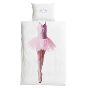 3 Pieces Cotton Material Dreamlike Ballet Skirt Girl Bedding Sets/Duvet Covers