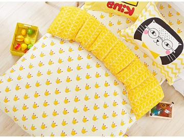 Lovely Little Crowns Pattern 100% Cotton Kids Duvet Cover Set