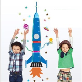 New Arrival Children's Dream and Cartoon Spaceship Wall Stickers