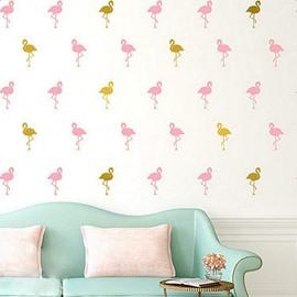 Fashion Flamingo Design Decoration Wall Decal
