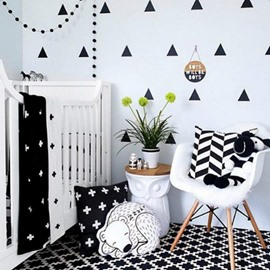 Popular Triangle Design More Colors Option Wall Decal