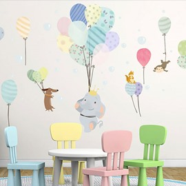 Removable Cartoon PVC 31*55 Colorful Kids Wall Stickers