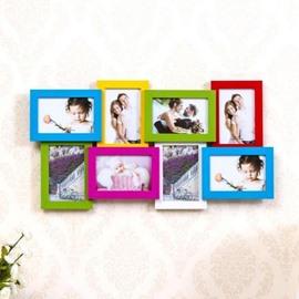 Modern Popular 8-Piece Wall Photo Frame Set
