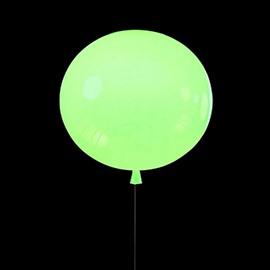Pretty Modern Acrylic Green Balloon Shape Wall Lights