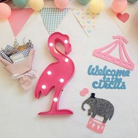 Fashion Home Decor Flamingo Design LED Lamp