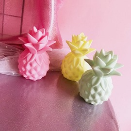 Pineapple Shaped Plastic Kids Room Night Light