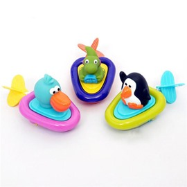 Animal Boat Digging Rope Baby  Bath Toys
