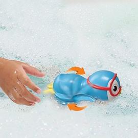 swimming penguin shaped 6-piece s bath toy set