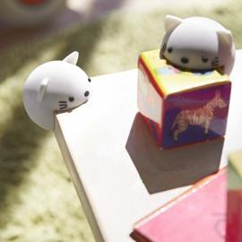 White Cat Shape Baby Edge Corner Guard Cushions