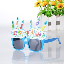 Creative Sunglasses Kids Birthday Celebration Decoration