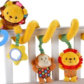 Creative Cartoon Lion Design Baby Bed Decor