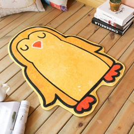 Yellow Penguin Shape Polyester Baby Play Floor Mat/Crawling Pad