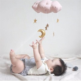 Concise Style Of Cloud Shaped Baby Room Wall Decor