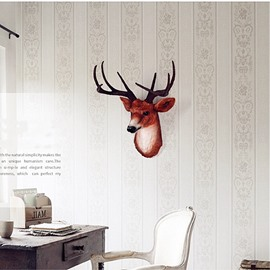 Vivid Elk Head Resin Material Environment Friendly 2 Color Room Decor Wall Art