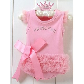 Pink Princess Style Baby Girl Ballet Skirt