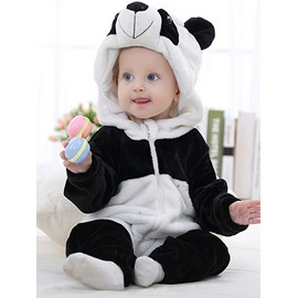 Adorable Super Soft Panda Design Baby Costume