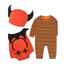 Cute Little Devil Shape Halloween Cotton Material Baby Costume