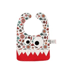 10.23*7.09in Eyes Decoration Cute Cotton Clolorful Baby Bib