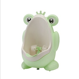 Cute Froggy Training Urinal for Boys with Funny Aiming Target