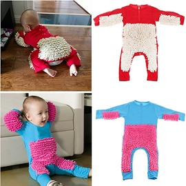 Floor Clean House Baby Crawling Clothes Creative Gift for Baby