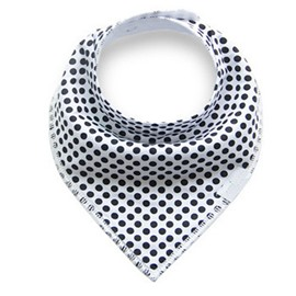 12*12in Polka Dots Pattern Simple Style Cotton Baby Bib