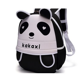 Panda Shaped Polyester Cute Kids Backpack