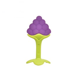 Silicone Grapes Shaped Soothing Baby Teething Toy