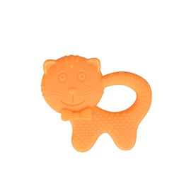 Silicone Cat Shaped Soothing Baby Teething Toy