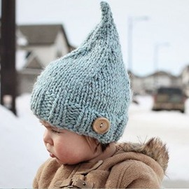 6 Color For Choice Knit Cotton Material Warm Keep Kids Hat