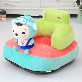 Cartoon Funny Animals Pattern Plush Kids Sofa /Cushion