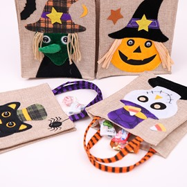 4 Pattern Creative Halloween Cartoon Kids Candy Bag