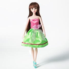 Lacy 12in Doll Glitter Girls Dressing Up DIY Fashion Doll
