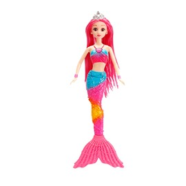 Cute Lacy 12in Doll Glitter Girls Mermaid Fashion Doll