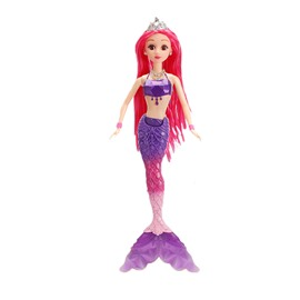 Cute Lacy 12in Doll Glitter Girls Mermaid Princess Fashion Doll