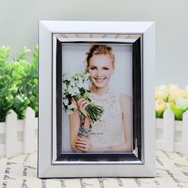 Modern Fashion White Simple Style Home Decorative Desktop Photo Frame