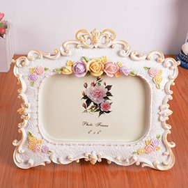 European Style Flower Frames Desktop Photo Frame